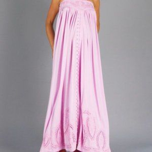 FILLYBOO Zippora Maternity Maxi Dress Lilac Small